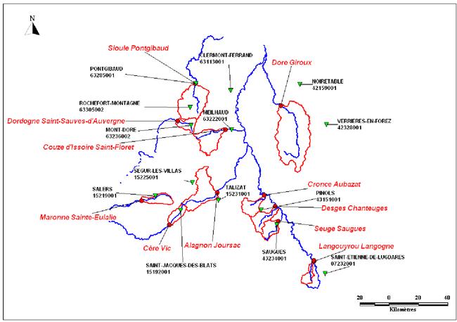 Y a t il une d rive hydrologique en auvergne wikhydro - Bassin pierre reconstituee clermont ferrand ...